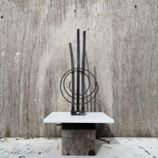 sculptures on frame & plinth